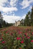 Vizille, Isere, Frankrijk, 30 September 2018: Chateau DE Vizille is royalty-vrije stock afbeeldingen