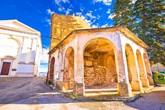 Free Vizinada Old Stone Square And Church View Royalty Free Stock Photos - 109527598