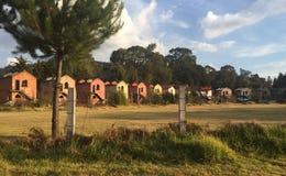 Vizinhança abandonada em Patzcuaro, Michoacan fotografia de stock royalty free