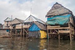 Vizinhança de Belen de Iquitos foto de stock