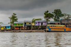 Vizinhança de Belen de Iquitos imagem de stock royalty free