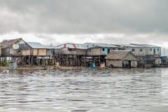 Vizinhança de Belen de Iquitos imagem de stock