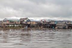 Vizinhança de Belen de Iquitos fotografia de stock
