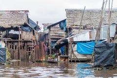 Vizinhança de Belen de Iquitos imagens de stock