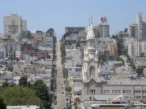 Vizinhança de San Francisco Foto de Stock Royalty Free