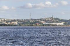 Vizinhança de Santa Tereza, lago Guaiba, Beira Rio Stadium, Porto fotos de stock