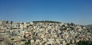 Vizinhança de Silwan do árabe - Jerusalém do leste Imagem de Stock Royalty Free