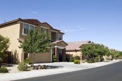 Vizinhança Home moderna nova Imagem de Stock Royalty Free