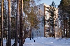 Vizinhança na rua de Vostochnaya Fotografia de Stock
