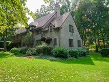 Vizinhança residencial de Forest Hills fotos de stock royalty free
