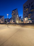 Vizinhança residencial em Aarhus em Dinamarca Imagens de Stock Royalty Free