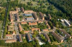 Vizinhança suburbana Imagens de Stock Royalty Free