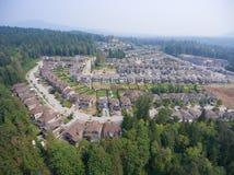Vizinhança suburbana Imagens de Stock