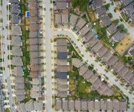 Vizinhança suburbana Fotos de Stock Royalty Free