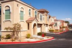 Vizinhança suburbana quieta Fotografia de Stock Royalty Free