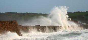 Vizor-Sturm, Guernsey Lizenzfreies Stockbild