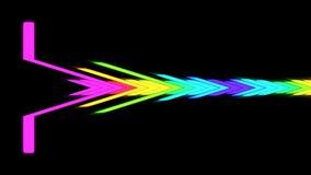VJ DJ maakt Niveaus Grafische Achtergrond gelijk royalty-vrije illustratie