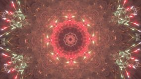 VJ Fractal kaleidoscopic background royalty free illustration
