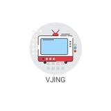Vjing Art Technology Icon moderne visuel Photographie stock libre de droits