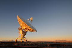 VLA无线电望远镜 库存照片
