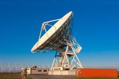VLA非常大列阵无线电望远镜 库存图片