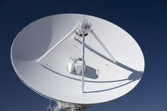 VLA parabolic dish Royalty Free Stock Photo