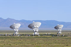 VLA radio telescope Stock Image