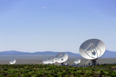 VLA radio telescope Royalty Free Stock Images