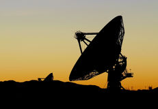 VLA radio telescope Stock Photos