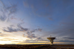 VLA radio telescope Royalty Free Stock Photo