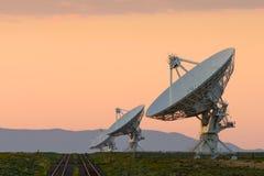VLA-radioteleskop Royaltyfria Bilder