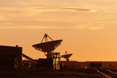 VLA at Sunset Stock Photo