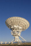 VLA Very Large Array radio telescope dish aimed up stock photography