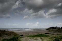Vlaamse kust Oostduinkerke Royalty-vrije Stock Afbeelding