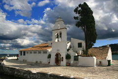 Vlacherna Monastery Stock Photo