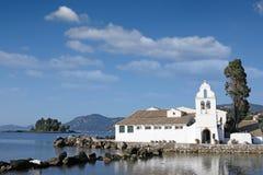 Vlacherna monastery Corfu island Greece Stock Photos
