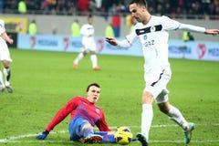 Meios de FC Steaua Bucareste FC Gaz Metan Imagens de Stock Royalty Free