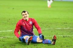 Meios de FC Steaua Bucareste FC Gaz Metan Foto de Stock Royalty Free