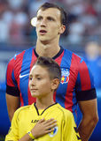 Vlad Chiriches of Steaua Bucharest Stock Photography