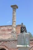 Vlad Impaler, of Dracula Boekarest, Roemenië stock foto