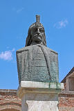 Vlad the Impaler, or Dracula. Bucharest, Romania. Sculpture of the Vlad III, Prince of Wallachia (1431–1476/77) in Bucharest, Romania Royalty Free Stock Images