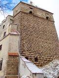 Vlad Tepes德雷库拉城堡  免版税库存照片