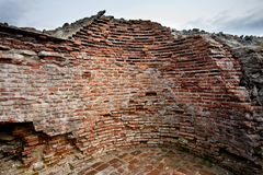 Vlad Tepes' fortress ruins Royalty Free Stock Photo