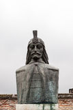 Vlad Tepes-monument Stock Afbeelding