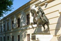 Vlad Tepes statua zdjęcie royalty free