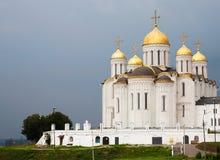 Vladimir的假定大教堂 免版税库存照片