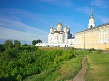 1158 1160 vladimir лета России предположения построенных собором Стоковые Фотографии RF