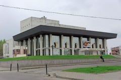 vladimir России - 6-ое мая 2018 Театр драмы Владимир академичный стоковое фото