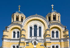 The Vladimir cathedral Royalty Free Stock Photography