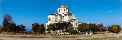 Vladimir Cathedral Fotografia Stock